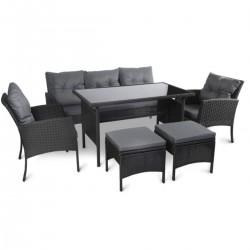 Set mobilier cu perne...