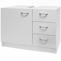 Baza mobilier baie cu 3 sertare si spatiu de depozitare