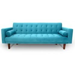 Canapea Blue Velvet extensibila