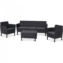 Set mobilier, canapea 3...